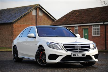 MERCEDES S-CLASS S63 AMG L EXECUTIVE