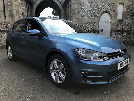 VOLKSWAGEN GOLF MATCH TDI BLUEMOTION TECHNOLOGY DSG AUTO BRIGHTON 01273 748484