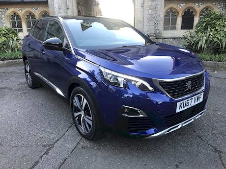 PEUGEOT 3008 BLUEHDI S/S GT LINE. BRIGHTON NEWTOWN ROAD.  01273 320 800