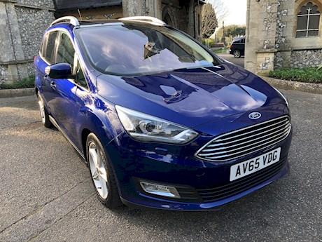 FORD GRAND C-MAX TITANIUM X TDCI. AUTOMATIC. BRIGHTON. NEWTON ROAD. 01273 320 800