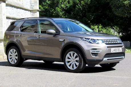 LAND ROVER DISCOVERY SPORT SD4 HSE LUXURY AUTOMATIC.