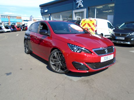 PEUGEOT 308 GTI THP S/S  WAS £30650 NOW £22650 SAVE £8000 PEUGEOT BRIGHTON