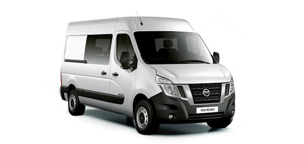 Nissan NV400 Conversion  Crew F35 L2h2 5 Doors Van - Mwb